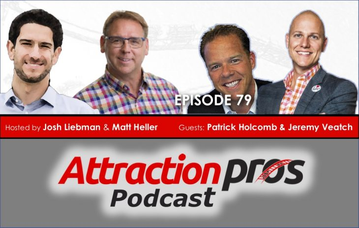 AP Podcast – Episode 79: Patrick Holcomb and Jeremy Veatch talk about working on your business instead of just in it, developing a marketing battle plan and mastering the Rubik's Cube
