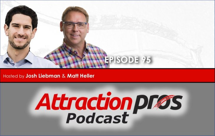 AP Podcast – Episode 95: Matt and Josh nerd out on coaster talk and manage to work in a topic