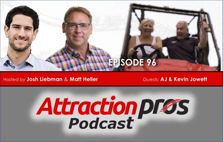 AP Podcast – Episode 96: Kevin and Audrey Jowett discuss changing their business plan, grass roots marketing, and knowing your place in the market
