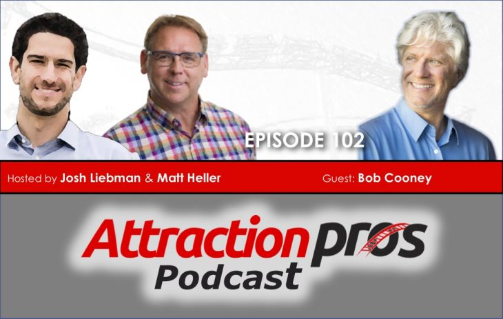 AP Podcast – Episode 102: Bob Cooney talks about VR, entrepreneurship and differentiation for attractions