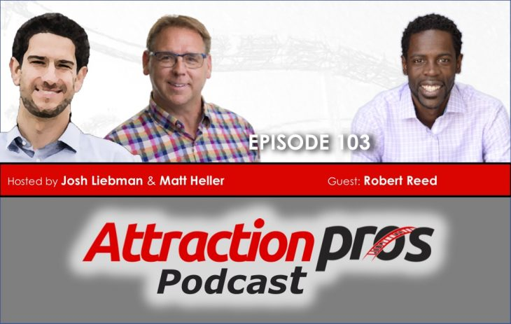 AP Podcast – Episode 103: Robert Reed talks about your authentic voice, clear expectations, and removing distractions