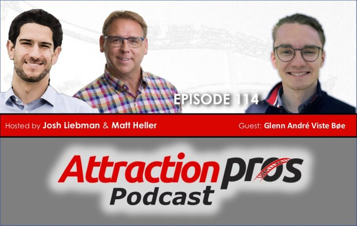 AP Podcast – Episode 114: Glenn André Viste Bøe talks about being a young executive, learning the zoo business and the need to be patient