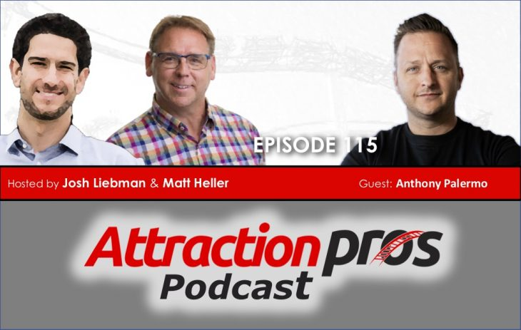 AP Podcast – Episode 115: Anthony Palermo talks about a frictionless guest experience, RFID, and what NOT to say to your investors