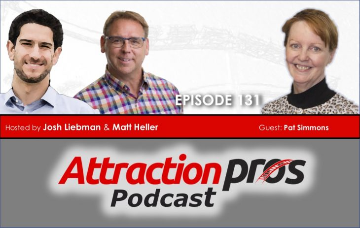 AP Podcast – Episode 131: Pat Simmons discusses creativity, elegant solutions and creating an attraction that is beloved by the community