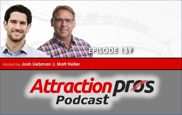 AP Podcast – Episode 139: AttractionsPros LIVE from your kitchen, living room or den!